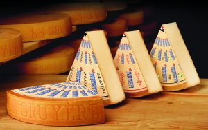 Treno del cioccolato e del formaggio - Svizzera - Formaggio Gruyere