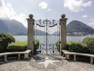 Particolare del Parco Ciani a Lugano