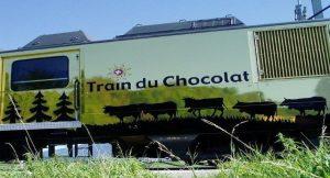 Treno del cioccolato e del formaggio - Svizzera - treno del cioccolato