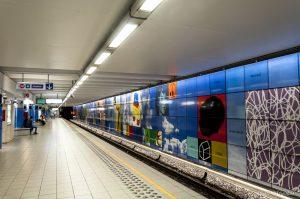 Stazione della Metro di Bruxelles