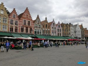 Il Markt (Piazza del Mercato) di Bruges