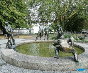 Fontana della Circolazione del denaro ad Aquisgrana