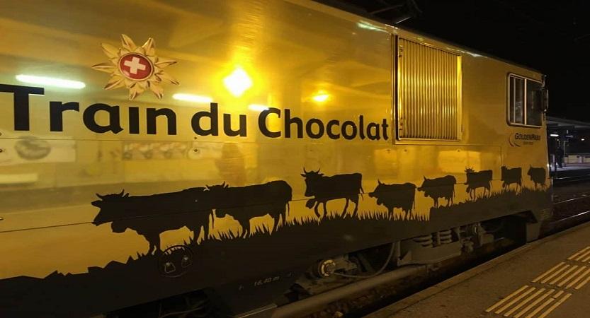 Treno del cioccolato e del formaggio: Svizzera