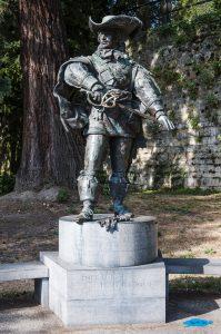 viaggio in olanda in 3 settimane: Statua di d'Artagnan a Maastricht