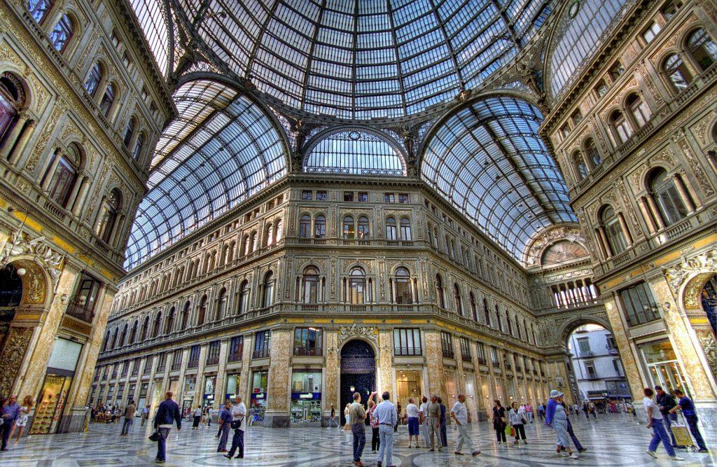 Napoli in 2 giorni: galleria umberto