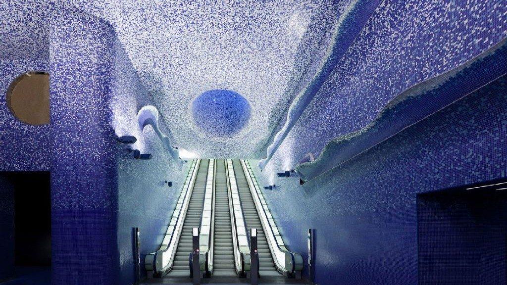 Napoli in 2 giorni: stazione metro toledo