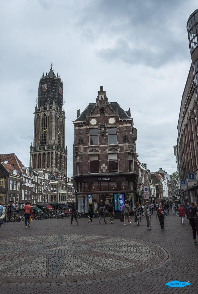 la Dom Toren di Utrecht