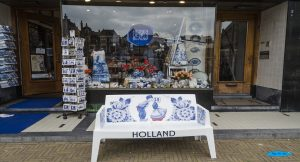 Ceramica blu di Delft
