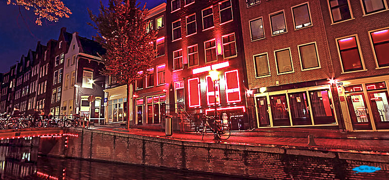 il Red light district ad Amsterdam