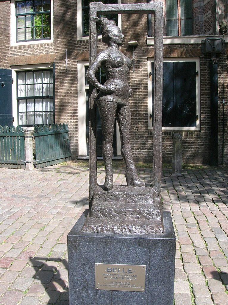 La Statua di Belle ad Amsterdam