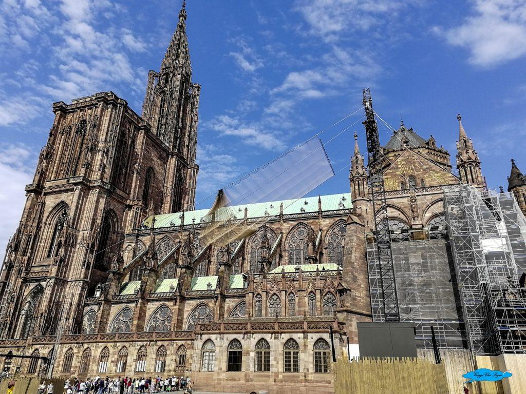 la Cattedrale di Strasburgo