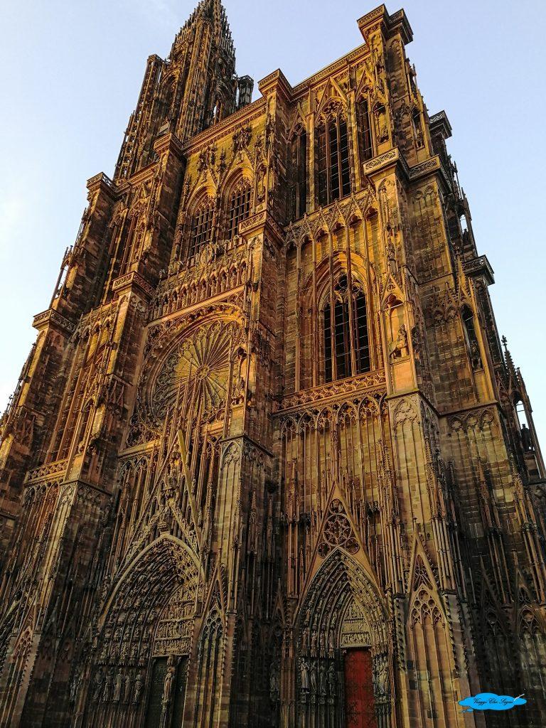 la guglia della cattedrale di Strasburgo