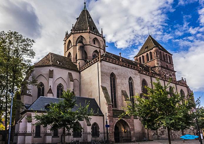 Strasburgo Chiesa di San Thomas