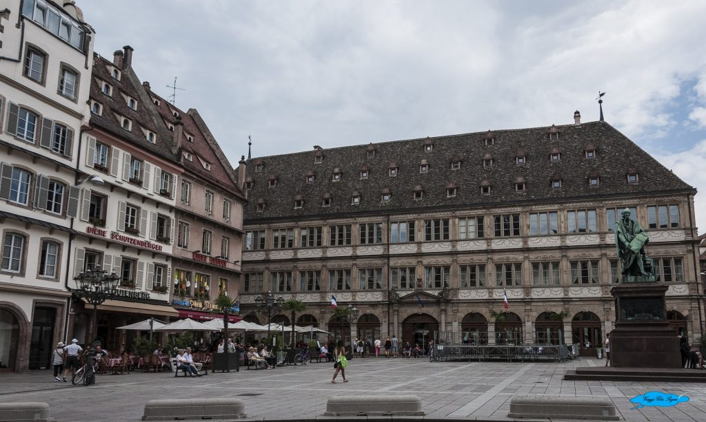 place gutenberg a Strasburgo