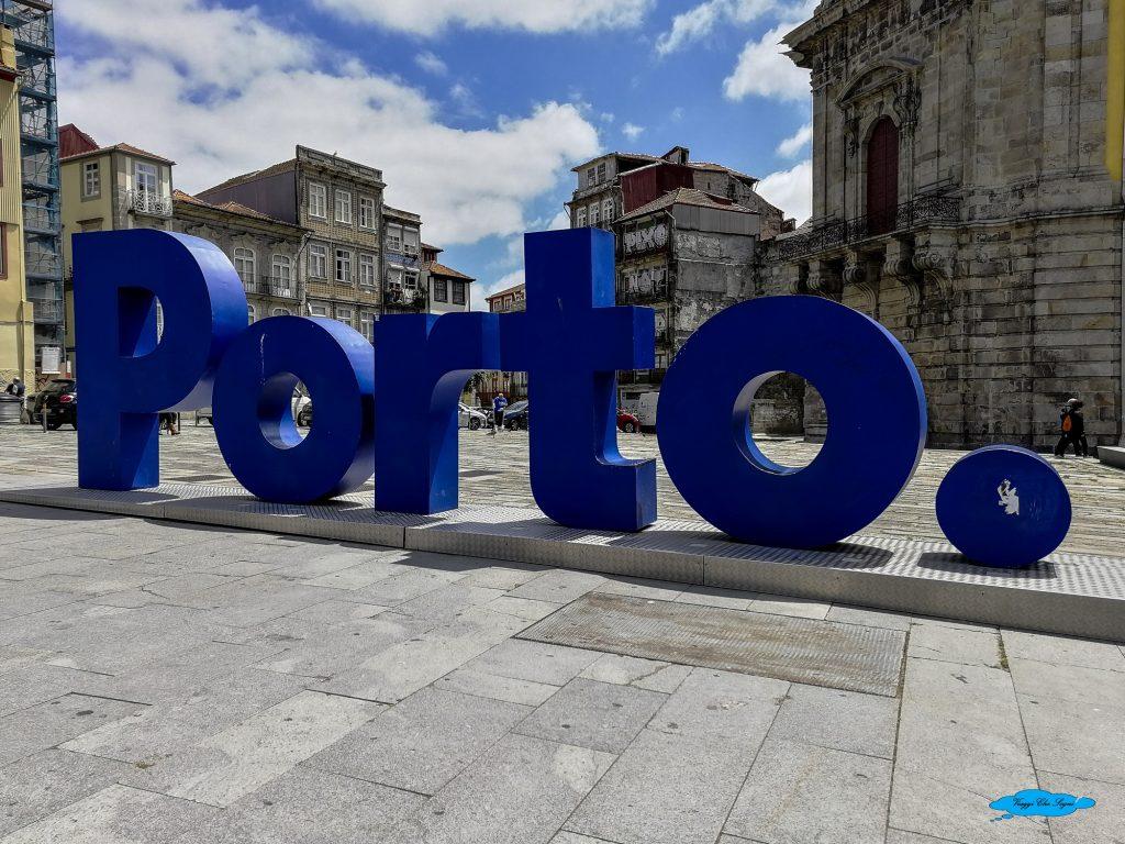 scritta Porto