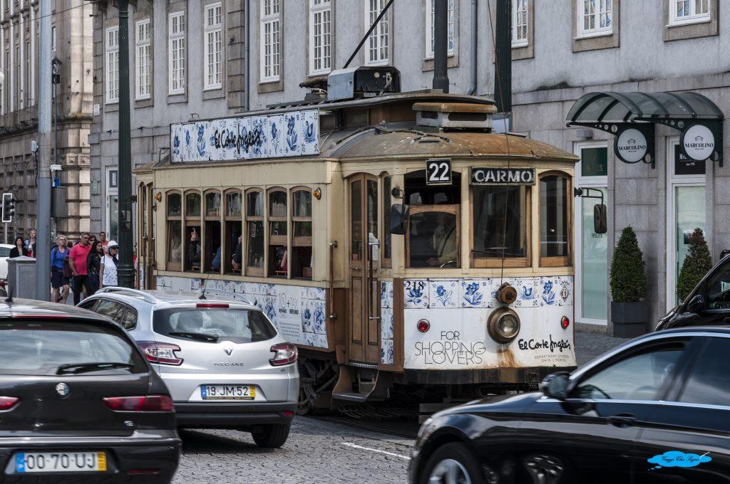 tram 22 a porto