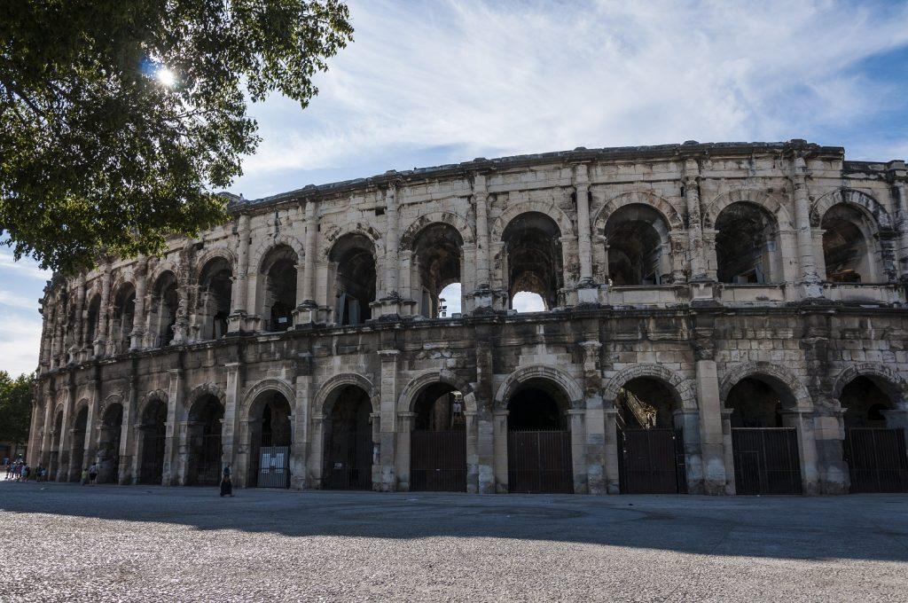 l'Anfiteatro di Nimes