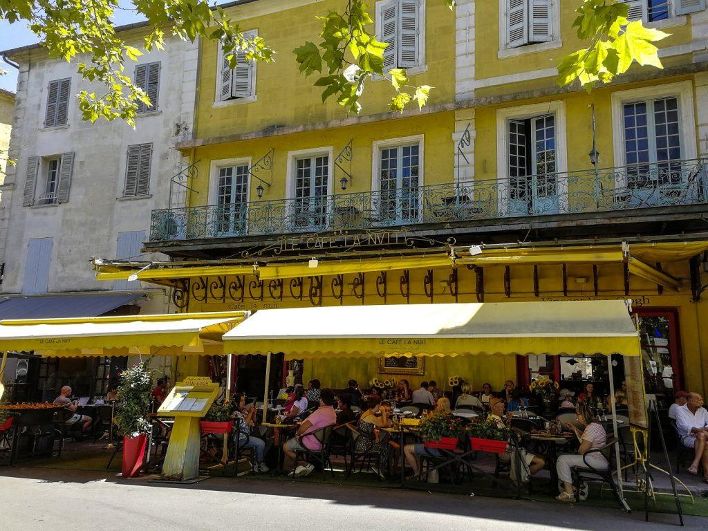 Van Gogh ad Arles: il cafè la nuit
