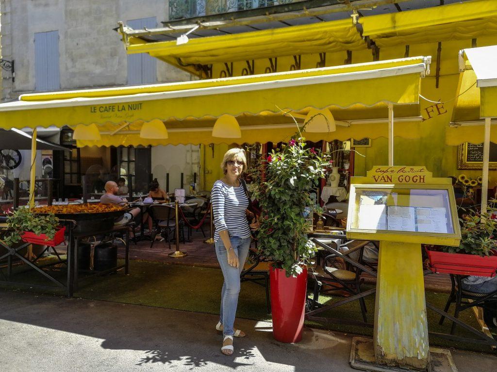 Van Gogh ad Arles: il cafè e Patrizia