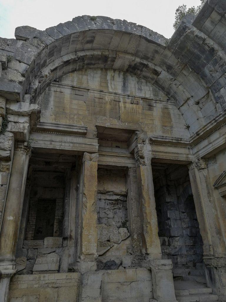 ingresso del tempio di diana