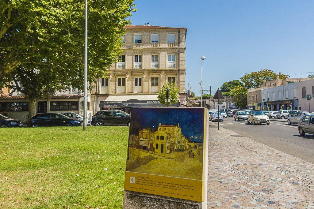 Van Gogh ad Arles: la targa in place lamartine