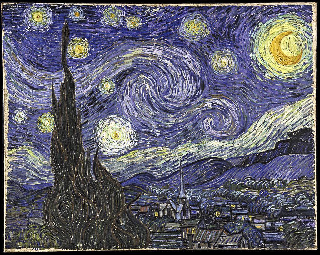 Van Gogh ad Arles: notte stellata