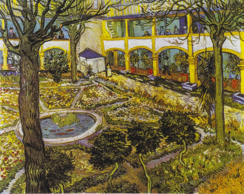 Van Gogh ad Arles: ospedale
