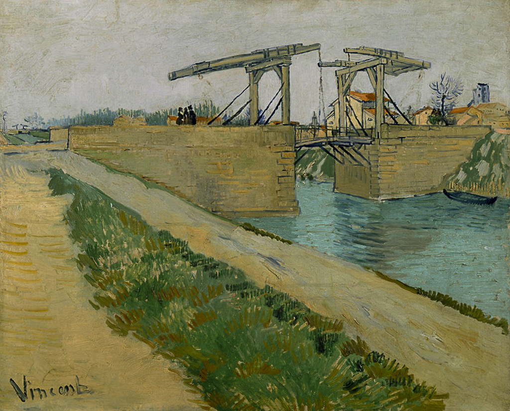 Van Gogh ad Arles: ponte di langlois