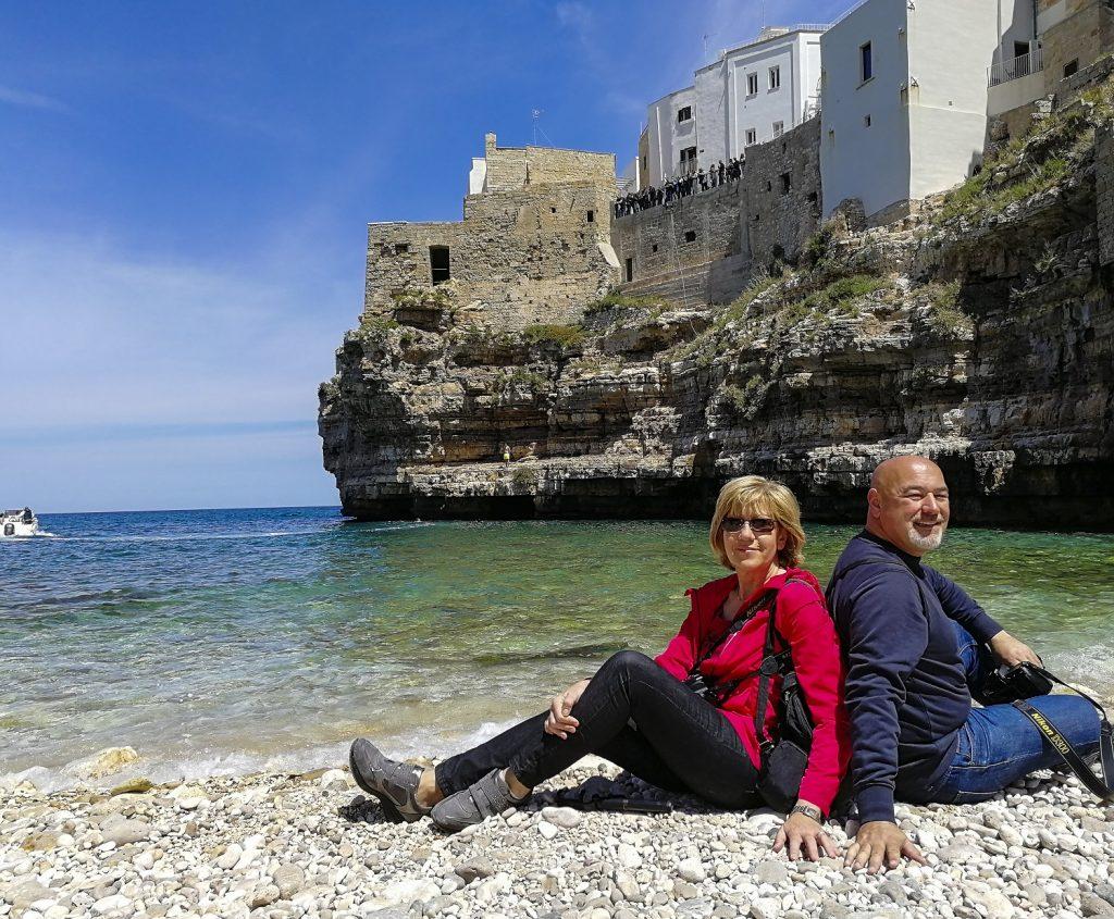 Due giorni a Polignano a mare: spiaggia di Lama Monachile