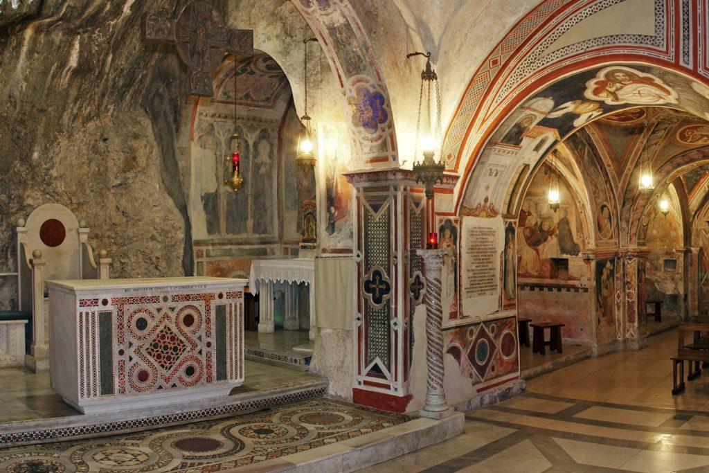 Basilica di San Benedetto a Subiaco: il Sacro Speco
