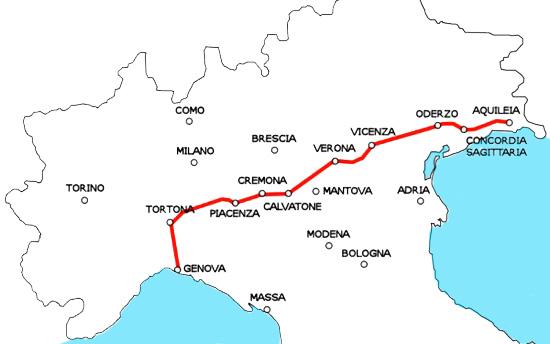 cammini italiani: la via posumia