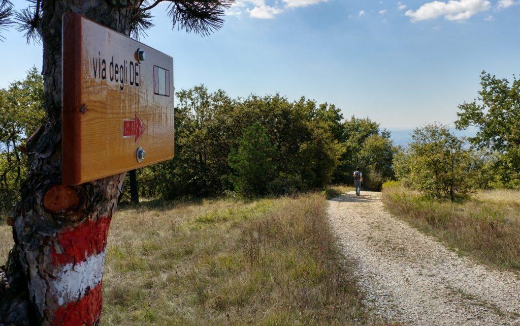 cammini italiani: la via degli dei