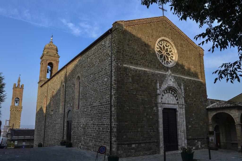 Montalcino: Chiesa di Sant'Agostino