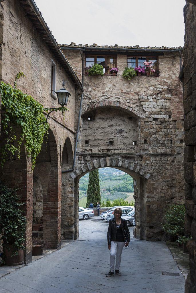 le porte di accesso al borgo