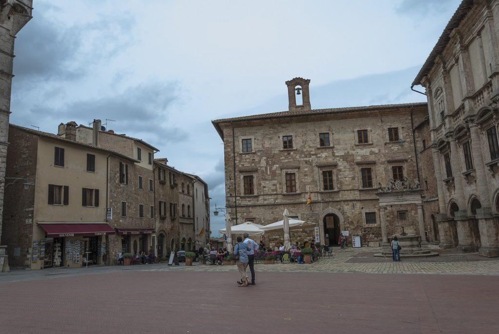 città del vino in Toscana: Piazza Grande
