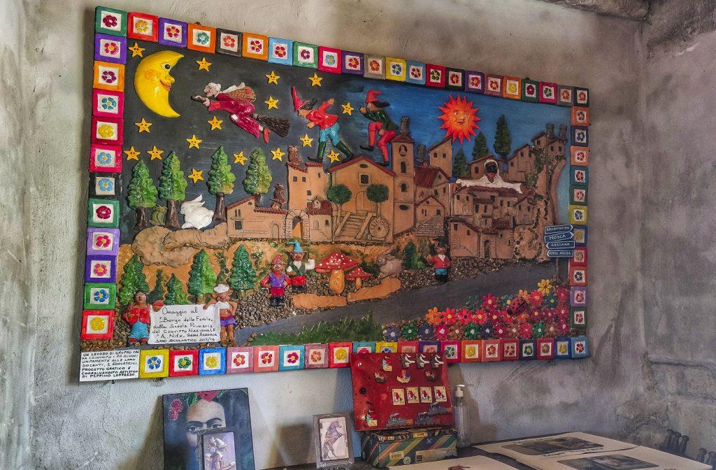 Murales di Valogno: bottega di arte altre produzioni