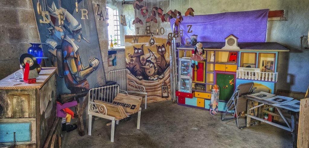 Murales di Valogno: bottega di arte