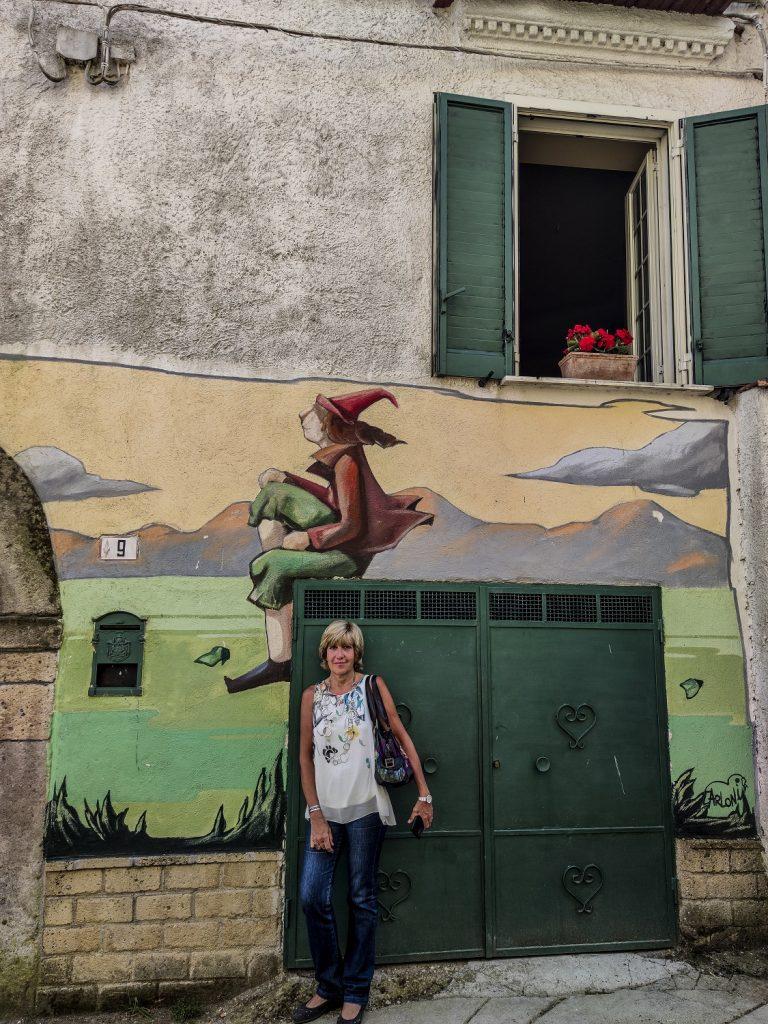 Murales di Valogno: Folletti