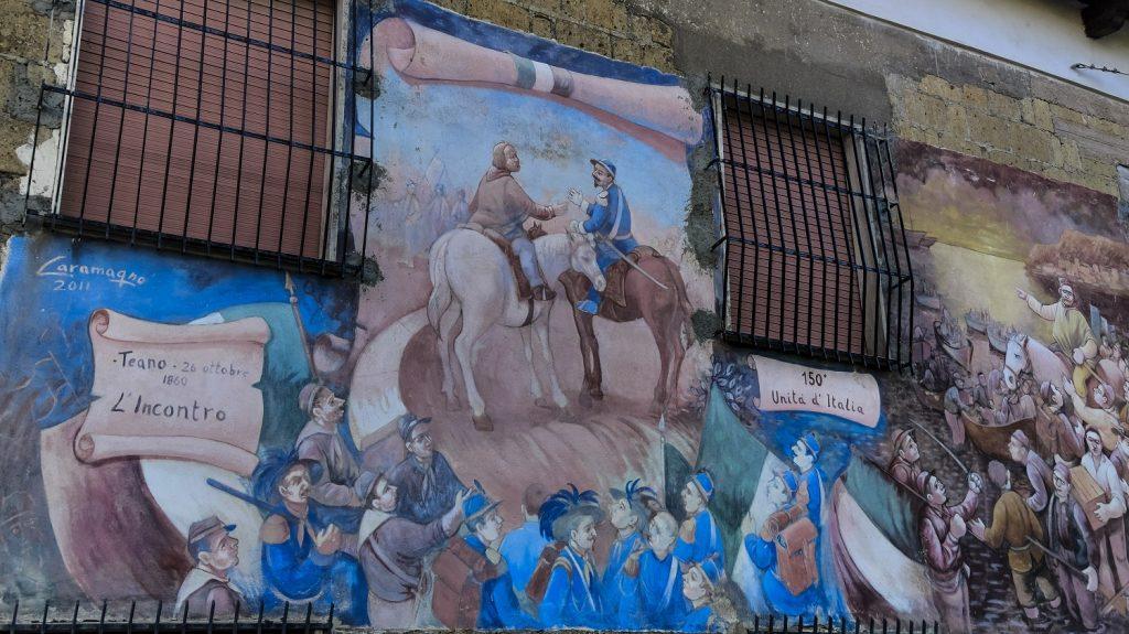 Murales di Valogno: murales della Brigata Garibaldi di Caramagno