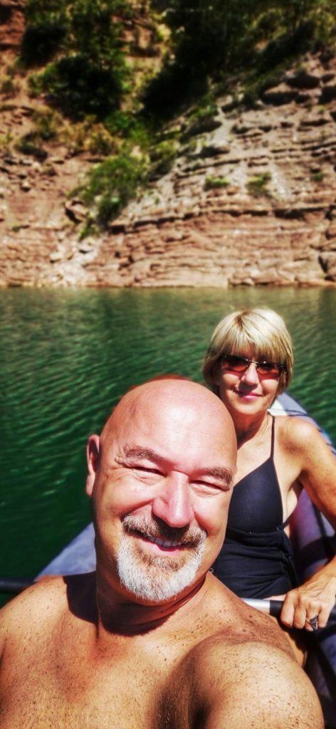 Escursione in Kayak ai Canyon del lago di Santa Giustina