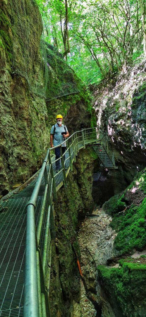 trekking al canyon del rio sass: io