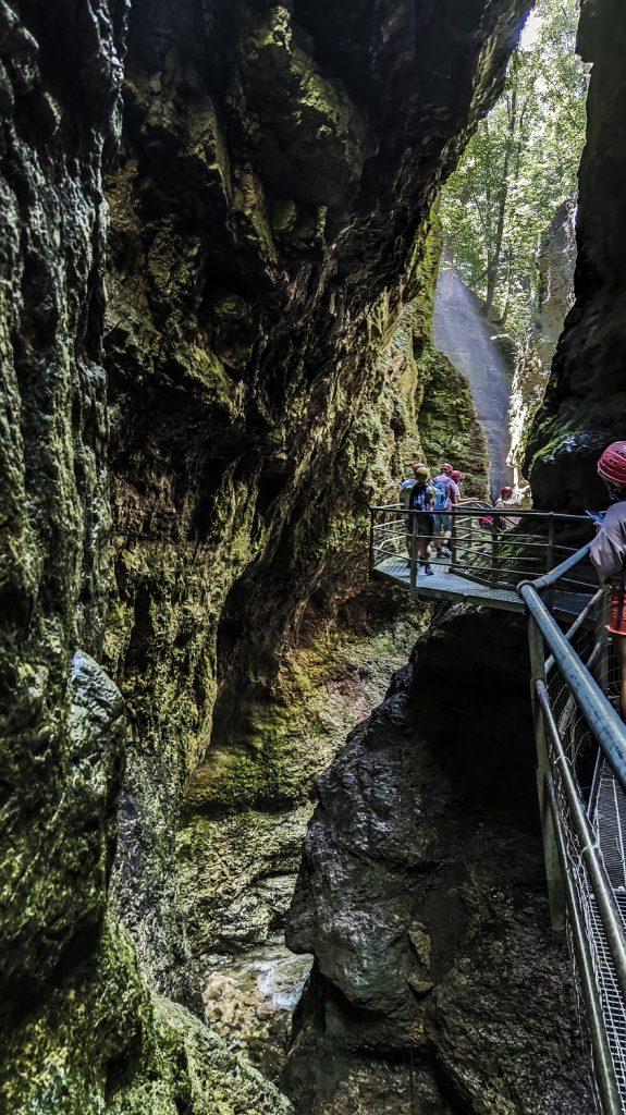 trekking al canyon del rio sass: percorsi