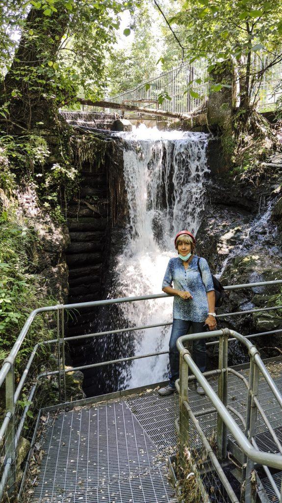 trekking al canyon del rio sass: la diga