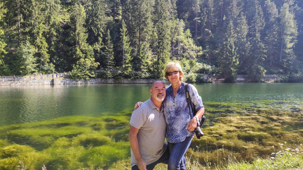 il lago smeraldo e noi due