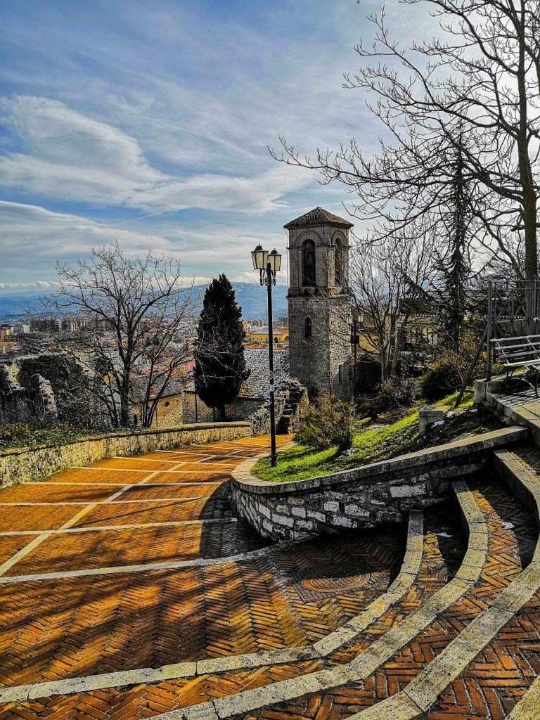 Panorama dalla Rocca a Morcone