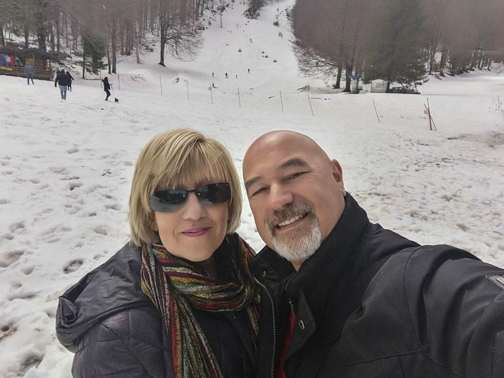 un giorno in irpinia: noi sulla neve
