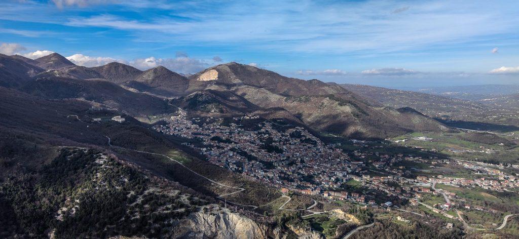 Altro da vedere in Irpinia: panorama-montella