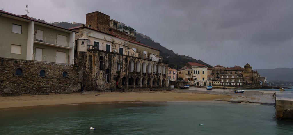 due giorni a castellabate:  santa maria panorama della spiaggia
