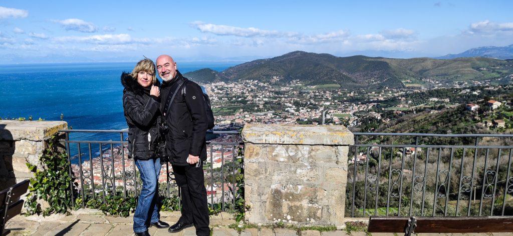 due giorni a castellabate:  castello e belvedere e noi