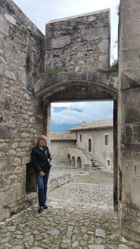 vedudel interne del castello piccolomini